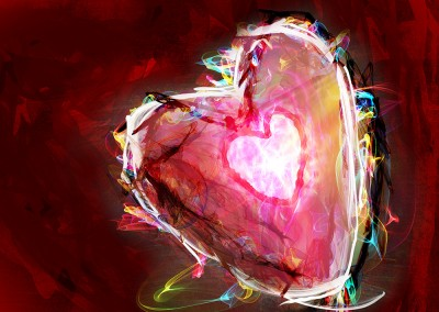 A Passionate Heart 1(Digital fine art)