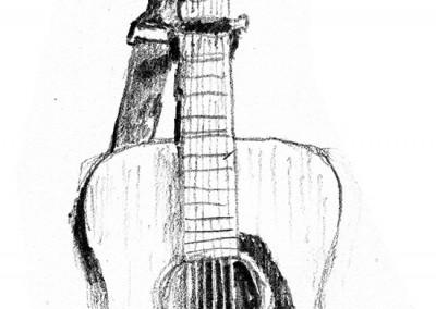 Guitar - quick sketch