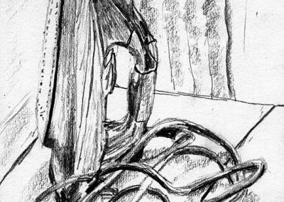 Iron - quick sketch