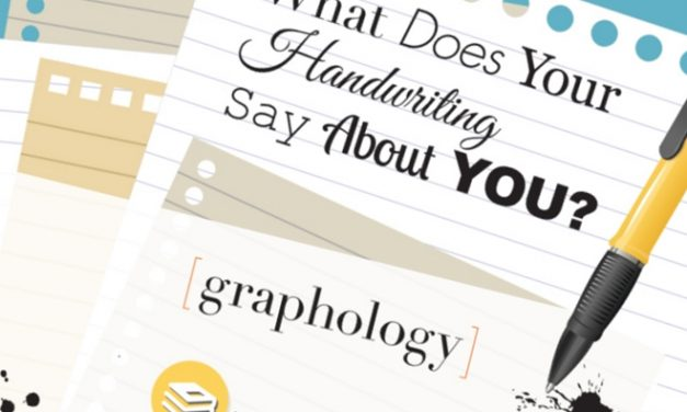 Handwriting – it's amazing and unique…(infographic)