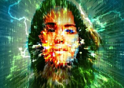 Electro Girl. Copyright Creative Bytes.