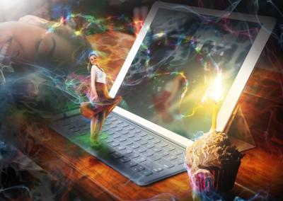 Designer's Dream. Made using random selection of photos supplied. Copyright Creative Bytes.