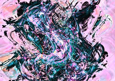 Abstract 129. Copyright Creative Bytes.