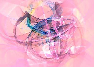 Abstract Swirls Pink. Copyright Creative Bytes.
