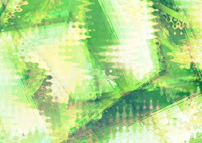 Four Abstracts Green 2. Copyright Creative Bytes.