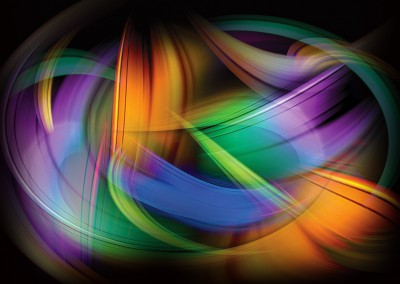 Magnetic Light Flux Abstract. Copyright Creative Bytes.
