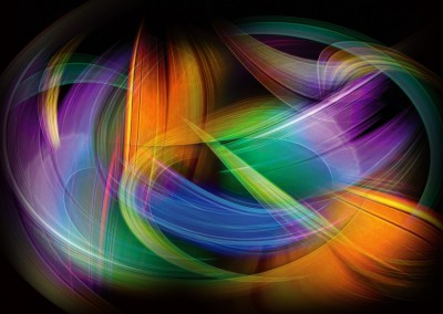 Magnetic Light Flux Abstract