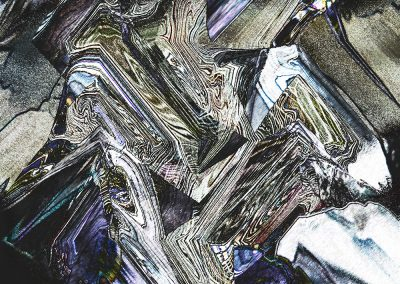 Abstract 147. Slice Through Precious Stone. Copyright Creative Bytes.