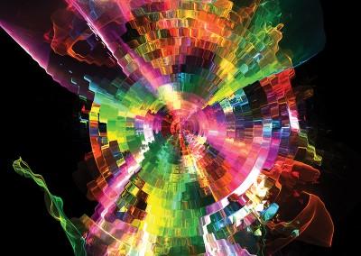 Abstract Colours. Copyright Creative Bytes.