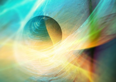 Abstract Sphere and Flow. Copyright Creative Bytes.