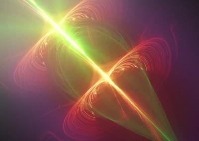 Green Glass Bulb Abstract. Copyright Creative Bytes.