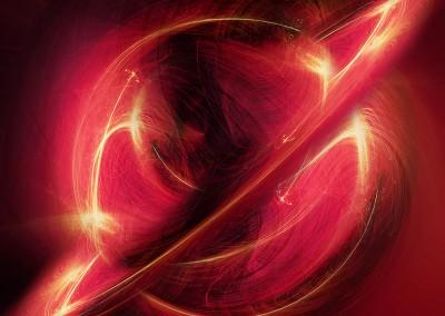 Firey Planet. Copyright Creative Bytes.