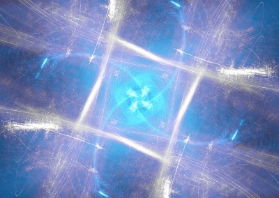 Glowing Box Abstract. Copyright Creative Bytes.